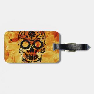Skull Travel Bag Tag