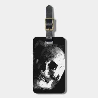 Skull Luggage Tags
