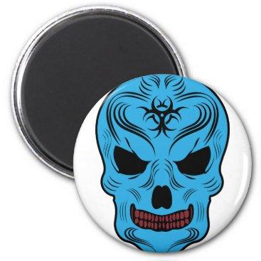 Halloween Themed Skull Magnet