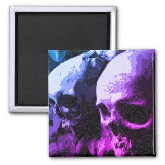 Skull Magnet purple/blue