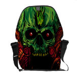skull mantle messenger bag