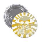 Skull Mascot Button