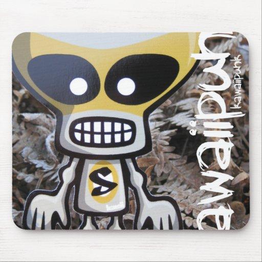 Skull Mascot Mouse Pad