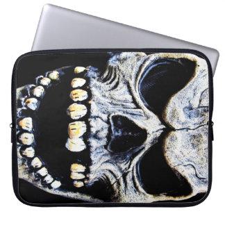 Skull Mask Laptop Sleeve