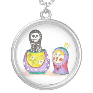 Skull Matrioshka Jewelry