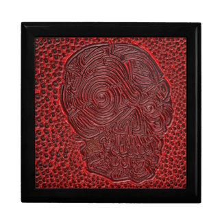 Skull Maze Keepsake Box