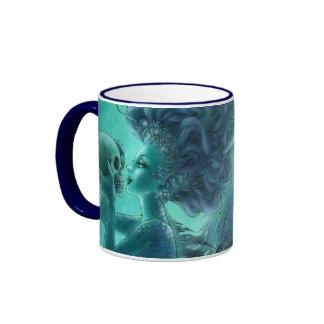 Skull Mermaid Dark Fantasy Mug