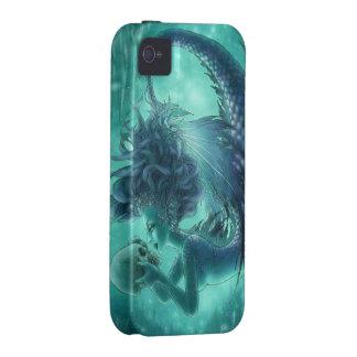 Skull Mermaid iPhone 4 Case - Secret Kisses