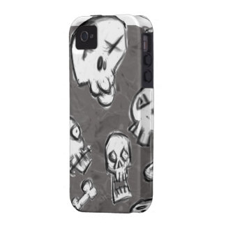 Skull Mess Hard Cover for iPhone iPhone 4 Case