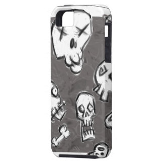 Skull Mess Hard Cover for iPhone iPhone 5 Cases