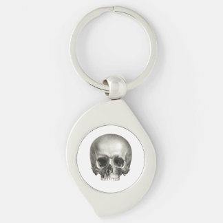 Skull Metal Keychain