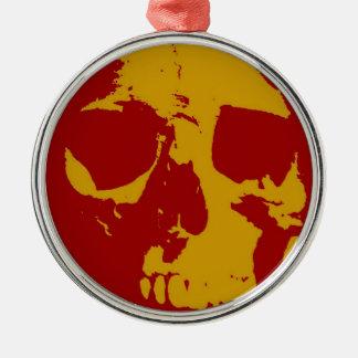 Skull Metal Ornament