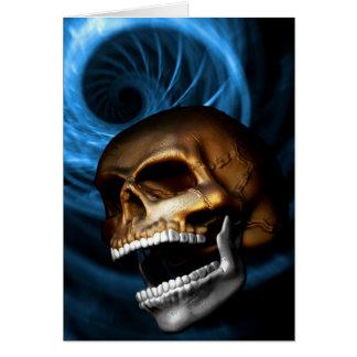 Skull-Metallic Cards