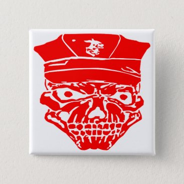 Skull & Military Cover  FB.com/USAPatriotGraphics Button