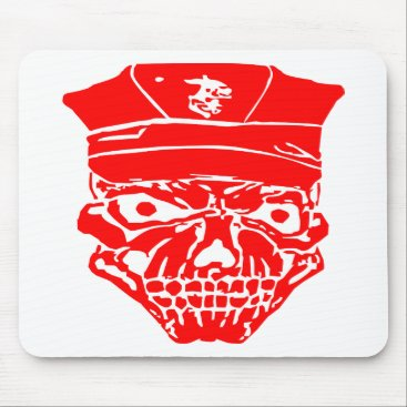 Skull & Military Cover  FB.com/USAPatriotGraphics Mouse Pad