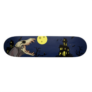 Skull Monster Skateboard Deck