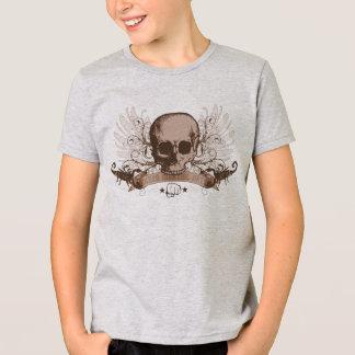 Skull montage - bronze T-Shirt