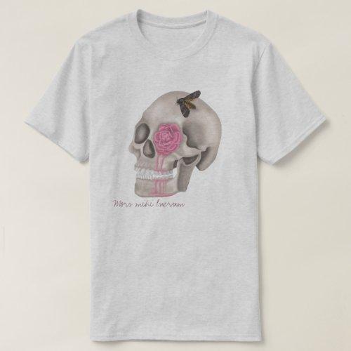 Skull_ Mors mihi lucrum T_Shirt