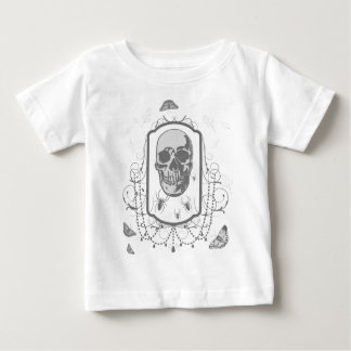 skull moth and SPI that gothic Baby T-Shirt