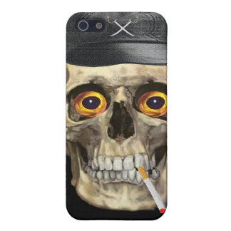 Skull motorcycle rider case for iPhone SE/5/5s