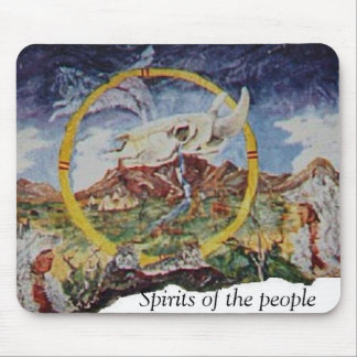 Skull Mtn. And Spirit of the people Mouse Pad