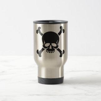 Skull 15 Oz Stainless Steel Travel Mug