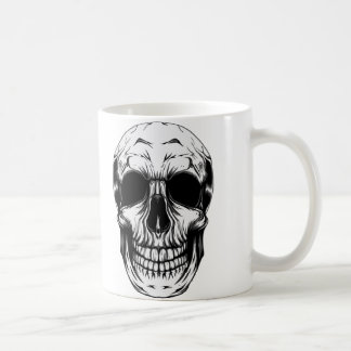 SKULL MUG by THE ART DUMP
