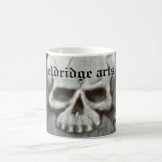 Skull Mug eldridge arts