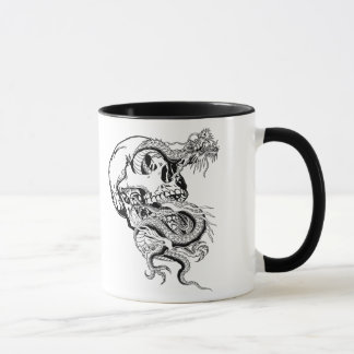 skull mugs and others