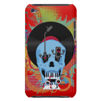 Skull Music and Weird Characters  Barely There iPod Cover