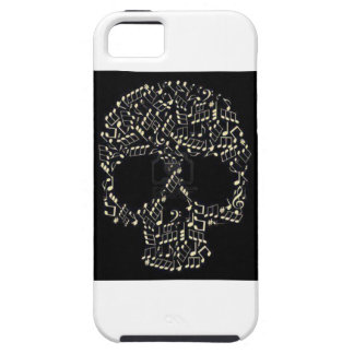 Skull music notes iPhone 5 covers