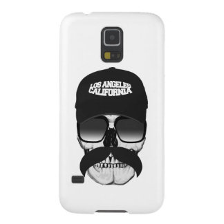 Skull mustache California Galaxy S5 Cover