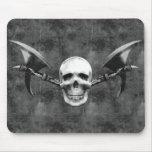 Skull n Axes Mousepad Dark