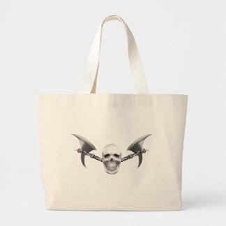 Skull N Axes Tote Bag