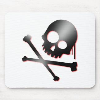 skull n bones 2 mouse pad