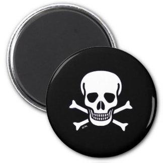 Skull n Bones black magnet