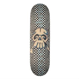 Skull N Bones Finish Line Skateboard