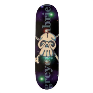 Skull N Bones Outer Space Skateboard Deck