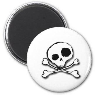 Skull N Bones Plain Magnet