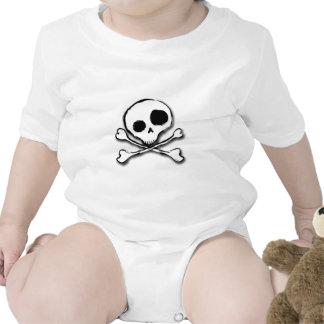 Skull N Bones Plain Bodysuit