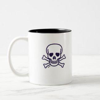 Skull n Bones right hand coffee mug
