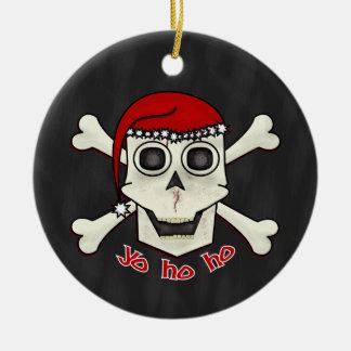 Skull 'N Bones Santa Ornament