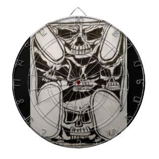 Skull n Cross Dart Board