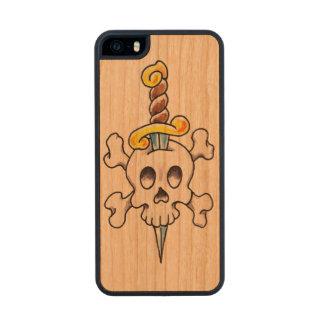 Skull-n-Dagger Slim Cherry iPhone5 Case Carved® Cherry iPhone 5 Slim Case