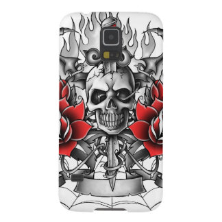 Skull n Dagger with Devil wings Case For Galaxy S5
