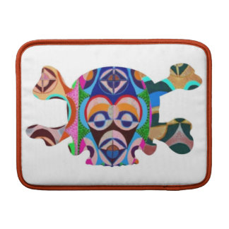 Skull n Ghost : Novino African Mascot Sleeve For MacBook Air