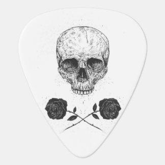 Skull N' Roses Guitar Pick
