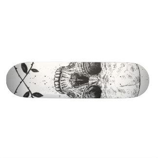 Skull N' Roses Skateboard Deck