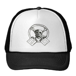 skull -n- shovels trucker hat