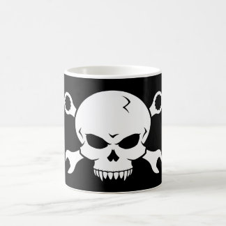 Skull 'n' Tools - Screw Pirate 2 (white) Coffee Mug